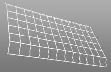 LED Premium Linear High Bay Wire Guard | E-HLD Series