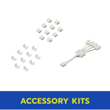 econoLED® Flexible Cable Systems Accessories Kit | Small