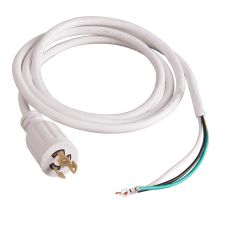 C-Lite 6-foot Cord & 208/240V 3-Blade Twist-Lock Plug (No Strain Relief)
