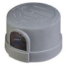 120-277V NEMA Photocell | 3-Pin | Gray
