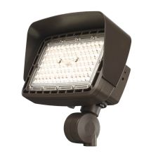 Cree Lighting® Noctura® Series | Top Visor | 1L Series Flood Light | Medium Bronze