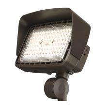 Cree Lighting® Noctura® Series | Top Visor | 6L Series Flood Light | Medium Bronze