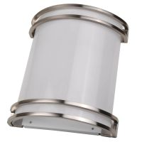 NaturaLED® LED 12-inch Wall Sconce | 3000K | Nickel