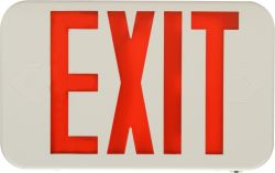 LED Exit Sign with Battery Backup E-XPL Series | e-conolight