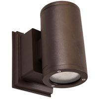 NICOR® LED Round Wall Sconce | OWCR Series | Up or Down
