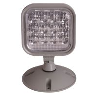 C-Lite LED 1W Single Remote Head | Multi-Volt | Outdoor | Gray | Self-Test