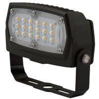 C-Lite LED Flood Light | C-FL-A-LCF Series | Yoke Mount | 3000K or 4000K | 1500 Lumens | Dark Bronze