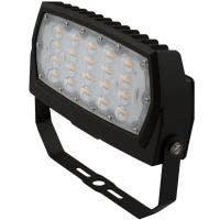 LED Flood Light | E-FFB Series | Yoke Mount | 4000K | Dark Bronze