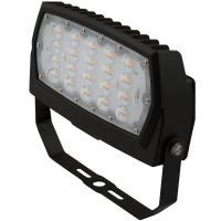 LED Flood Light | E-FFB Series | Yoke Mount | 5700 Lumens | Dark Bronze