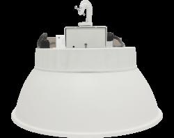 LED Round High Bay | E-HTE18A Series | 5000K | Prismatic Reflector | White