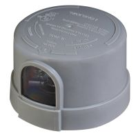 120-277V NEMA Photocell | 3-Pin | Gray