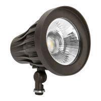 GKOLED LED Bullet Light / Narrow LED Flood Light 20° Beam Angle GKOFR Series 2500 Lumens 4000K Dark Bronze