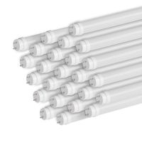 C-Lite T8 LED Tube Lights | C-T8 Series | Double End Powered Ballast Bypass | 9W | 2-Foot | 25-Pack
