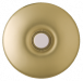 Prime Chime Lighted Doorbell | E-ZBA Series | Stucco | Polished Brass