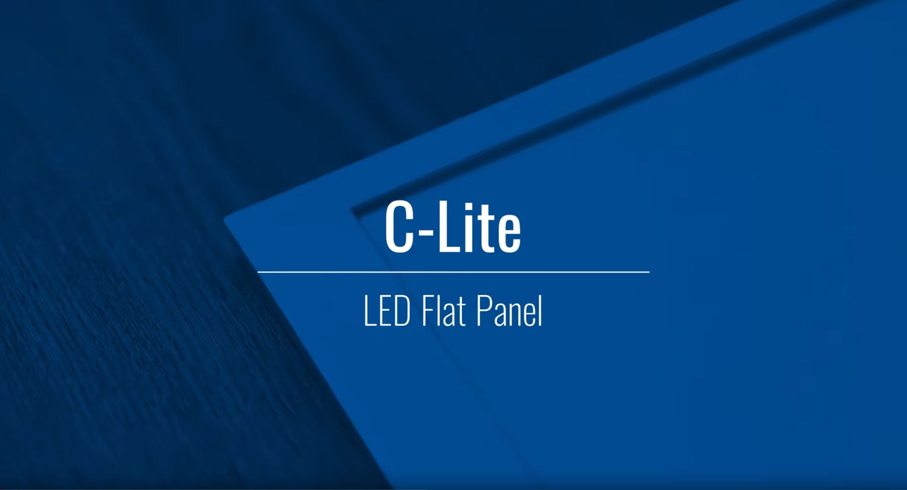 Seamless & Efficient:  Our C-Lite LED Flat Panel