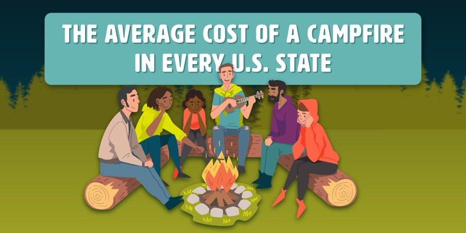 The Cost of a Campfire in Every U.S. State | e-conolight