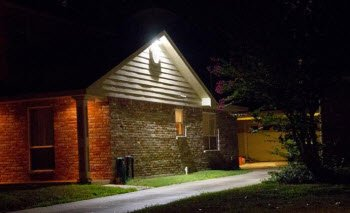 LED wall packs for residential use