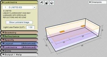 Lighting Layout Calculator Indoor Outdoor Lighting Layout E Conolight
