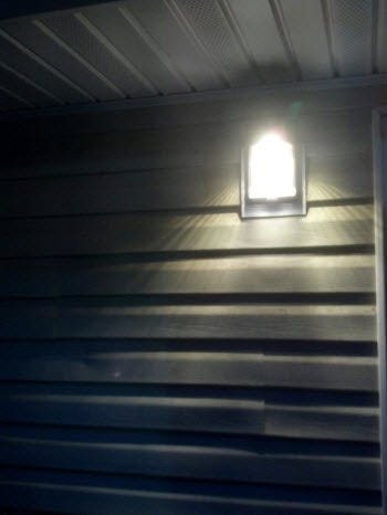 LED Wall Mount Fairview Baptist Church