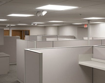 office track lighting. LED Troffer E-conolight Office Track Lighting