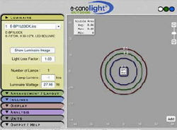 e-conolight | Lighting Layout Tool