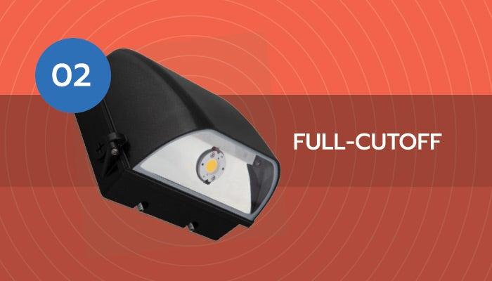 full cutoff wall pack light